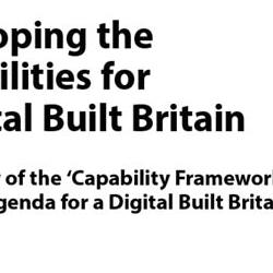Read more at: Capability Framework and Research Agenda for a Digital Built Britain