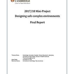 Read more at: Publication: Final Report - Designing Safe Complex Envioronments