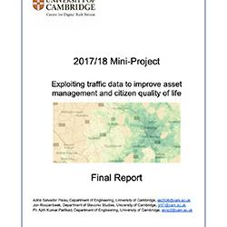 Read more at: Publication: Final Report - Exploiting traffic data to improve asset management and citizen quality of life