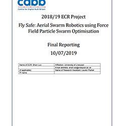 Read more at: Publication: Final Report - Aerial Swarm Robotics for Active Inspection of Bridges