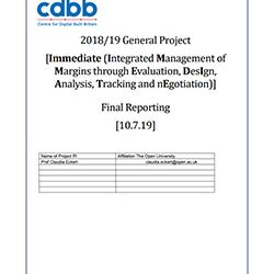 Read more at: Publication: Final Report - Integrated Management of Margins through Evaluation, Design, Analysis, Tracking and Negotiation