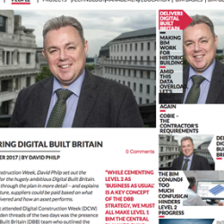 Blog on Delivering Digital Built Britain