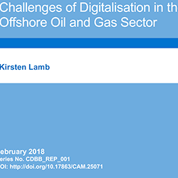 Report: Challenges of Digitalisation in the Offshore Oil and Gas Sector