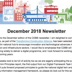 CDBB's December 2018 Newsletter