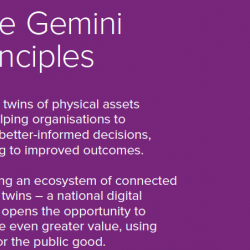 Press Release: Principles to guide the development of the National Digital Twin released