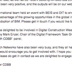 CDBB November 2018 Newsletter