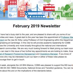CDBB's February Newsletter