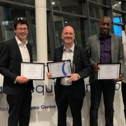 BIM4Water's inaugural award celebrates digital transformation in the water sector