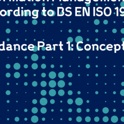 Information Management according to BS EN ISO 19650 - Guidance Part 1: Concepts