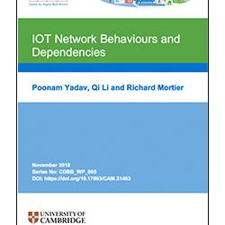 Read more at: IOT Network Behaviours and Dependencies