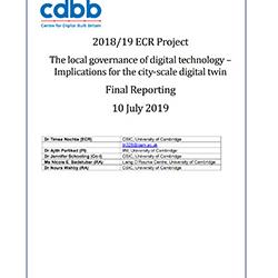 Read more at: Publication: Final Report - The local governance of digital technology – Implications for the city-scale digital twin