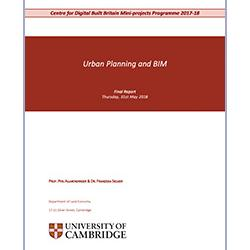 Read more at: Publication: Final Report - Urban Panning and BIM