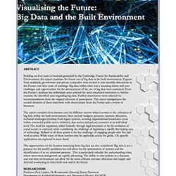 Read more at: Publication: Final Report - Visualising the Future: Big Data and the Built Environment