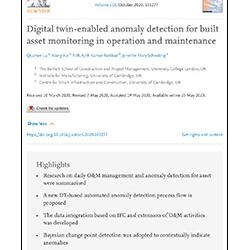 Read more at: Publication: Digital twin-enabled anomaly detection for built asset monitoring in operation and maintenance