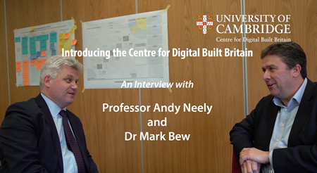 Video Introduction to the Centre for Digital Built Britain
