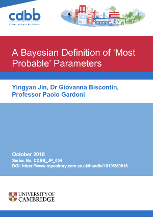 Monthly Paper: A Bayesian Definition of Most Probable Parameter
