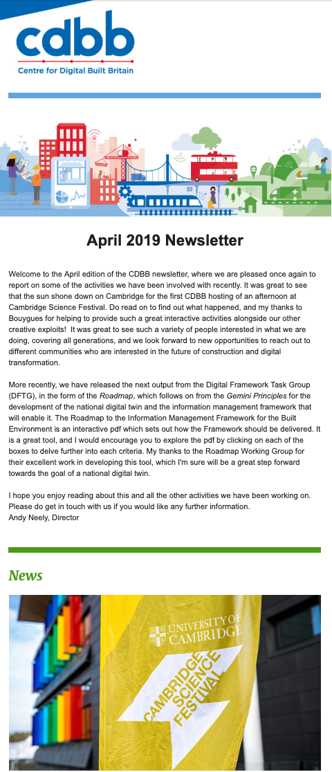 CDBB April Newsletter