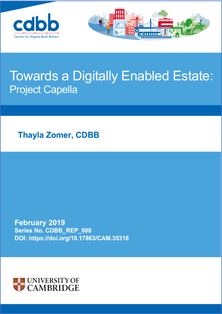 Towards a Digitally Enabled Estate: Project Capella