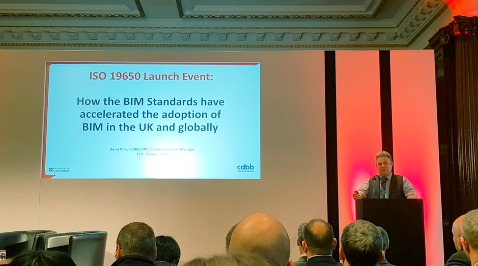 ISO 19650 Launch event
