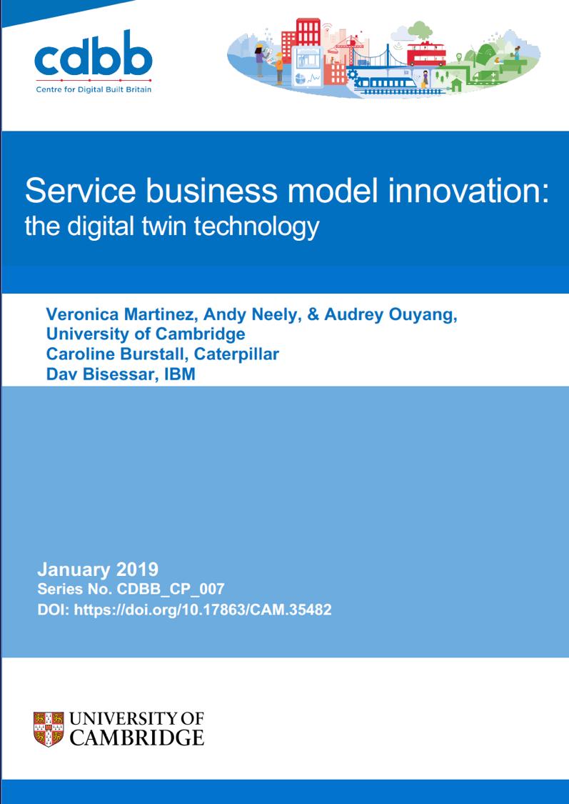 Service Business Model Innovation: the digital twin technology