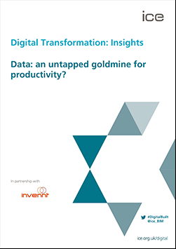 ICE Blog: Data - an untapped goldmine for productivity?